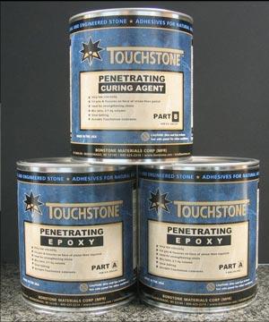 Touchstone Penetrating Epoxy Bonstone Materials Corporation